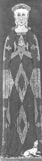 Aide pour blason Marguerite de Flandre Warwick